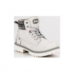 Buty dziecięce traperki szare r. 33. Szare buciki niemowlęce American CLUB, na zimę. Za 151,12 zł.