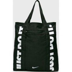 Nike - Torebka. Szare torebki klasyczne damskie Nike, z materiału, duże. W wyprzedaży za 119,90 zł.