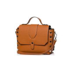 Torby na ramię Style  SB389AW Torebka. Brązowe torebki klasyczne damskie marki ARTENGO, z materiału. Za 99,00 zł.