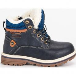 Chłopięce ocieplane traperki NORA. Niebieskie buty zimowe chłopięce ARRIGO BELLO. Za 129,90 zł.