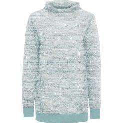 Długa bluza z kieszeniami bonprix eukaliptusowy melanż. Zielone bluzy rozpinane damskie bonprix, melanż, z długim rękawem, długie. Za 44,99 zł.
