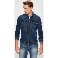 Tommy Jeans - Kurtka. Szare kurtki męskie bomber Tommy Jeans, l, z bawełny. Za 399,90 zł.