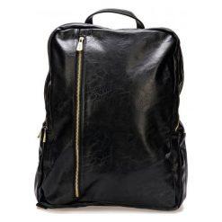 Bobby Black Plecak Męski Czarny. Brązowe plecaki męskie marki Alma en Pena, z materiału, na obcasie. Za 244,00 zł.