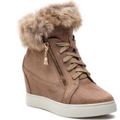 Sneakersy KAZAR - Izyda 34035-S9-32 Light Brown. Brązowe sneakersy damskie Kazar, z materiału. Za 499,00 zł.