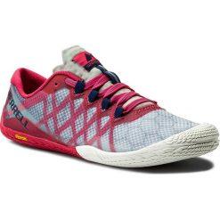 Buty MERRELL - Vapor Glove 3 J09676 Azalea. Czerwone buty do biegania damskie Merrell, z materiału. W wyprzedaży za 229,00 zł.
