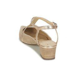 Czółenka France Mode  FOREVER SETA. Brązowe buty ślubne damskie France Mode. Za 398,30 zł.