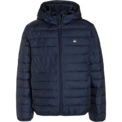 Quiksilver SCALY  Kurtka zimowa navy blazer. Szare kurtki chłopięce zimowe marki Quiksilver, krótkie. W wyprzedaży za 223,20 zł.