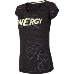 T-shirty damskie: T-shirt damski TSD019 – czarny