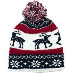 Czapka damska  Skandynawska czerwona. Czerwone czapki zimowe damskie Art of Polo. Za 32,73 zł.