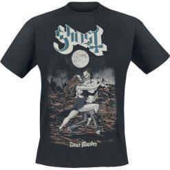 Ghost Dance Macabre T-Shirt czarny. Niebieskie t-shirty męskie z nadrukiem marki Reserved, l, z okrągłym kołnierzem. Za 74,90 zł.
