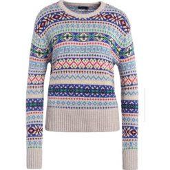 Swetry klasyczne damskie: Polo Ralph Lauren Sweter tan/multicolor