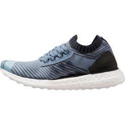 Adidas Performance ULTRA BOOST X Obuwie do biegania treningowe raw grey/carbon/legend ink. Brązowe buty do biegania damskie marki adidas Performance, z gumy. Za 749,00 zł.