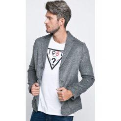31b60ee9e58ef Guess Jeans - Marynarka. Niebieskie garnitury męskie Guess Jeans, xxl, z  aplikacjami, ...
