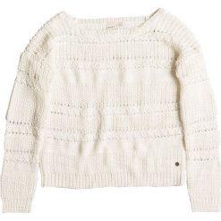 """Sweter """"Dreambeliever"""" w kolorze kremowym. Białe swetry klasyczne damskie marki Roxy, s, z dzianiny, z okrągłym kołnierzem. W wyprzedaży za 126,95 zł."""