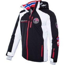 """Kurtka narciarska """"Maestro"""" w kolorze czarno-biało-czerwonym. Białe kurtki sportowe męskie Nebulus, m, narciarskie. W wyprzedaży za 474,95 zł."""