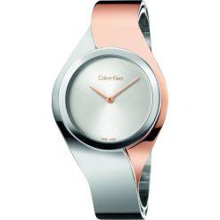 ZEGAREK CALVIN KLEIN SENSES K5N2M1Z6. Szare zegarki damskie marki Calvin Klein, szklane. Za 1379,00 zł.