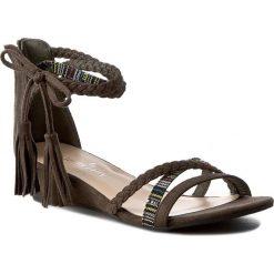 Sandały damskie: Sandały JENNY FAIRY - WS17011-3A Khaki
