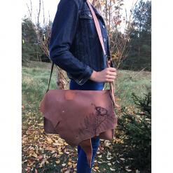 Duża skórzana torba na laptop. Czarne torebki klasyczne damskie Pakamera, ze skóry, duże. Za 280,00 zł.
