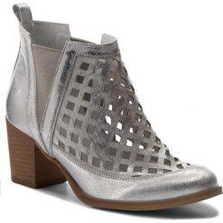 Botki SERGIO BARDI - Falcone SS127331118RB 724. Szare buty zimowe damskie Sergio Bardi, z nubiku. W wyprzedaży za 239,00 zł.