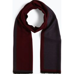 Finshley & Harding - Szalik męski – Black Label, czerwony. Czarne szaliki męskie marki Finshley & Harding, z wiskozy. Za 129,95 zł.