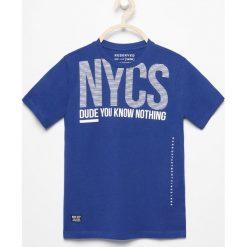 Odzież chłopięca: T-shirt nycs – Niebieski