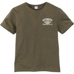 T-shirty męskie: T-shirt Regular Fit bonprix ciemnooliwkowy