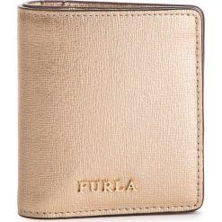 Mały Portfel Damski FURLA - Babylon 1000225 P PR74 SFM Color Oro. Żółte portfele damskie Furla, ze skóry. Za 435,00 zł.