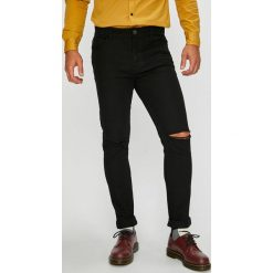 Brave Soul - Jeansy. Czarne jeansy męskie skinny Brave Soul, z bawełny. Za 139,90 zł.