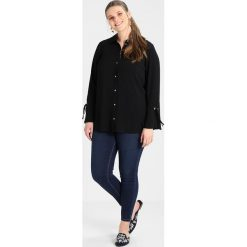 Koszule wiązane damskie: Evans EYELET Koszula black