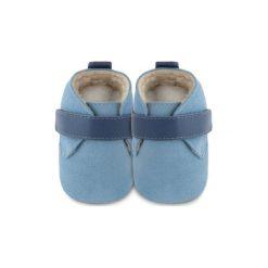 Buciki niemowlęce chłopięce: SHOOSHOOS Boys Baby Buty do raczkowania easy bleu