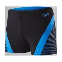 Kąpielówki męskie: Speedo Kąpielówki męskie Chevron Splice Aquashort Black/Blue r. 36 (8113487669)