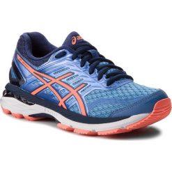 Buty ASICS - Gt-2000 5 (2A) T760N Regatta Blue/Flash Coral/Indigo Blue 4006. Niebieskie buty do biegania damskie Asics, z materiału. W wyprzedaży za 289,00 zł.