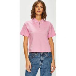 Tommy Jeans - Top. Szare topy damskie marki Tommy Jeans, l, z bawełny. Za 269,90 zł.