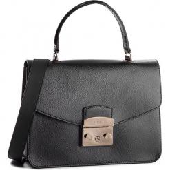 Torebka FURLA - Metropolis 948625 B BLE8 ARE Onyx. Czarne torebki klasyczne damskie Furla, ze skóry, duże. Za 1179,00 zł.