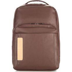 Plecak w kolorze brązowym - (W)43 x (G)13 cm. Brązowe plecaki męskie Wittchen, w paski, z materiału. W wyprzedaży za 189,95 zł.