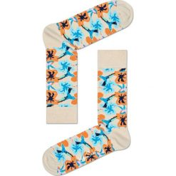 Happy Socks - Skarpety Hummingbird. Szare skarpetki męskie Happy Socks, z bawełny. W wyprzedaży za 27,90 zł.