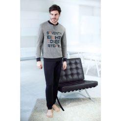 Piżamy męskie: Męska włoska piżama Cover Story