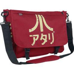 Atari Retro Torba kurierska czerwony. Czerwone torby na ramię męskie marki ATARI, w paski, duże. Za 121,90 zł.