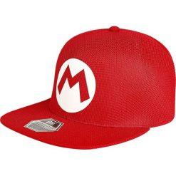 Czapki damskie: Super Mario Logo Czapka Snapback czerwony