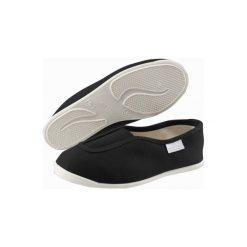 Buty gimnastyczne Rythm 300. Czarne buty skate męskie DOMYOS, z bawełny, na jogę i pilates. Za 19,99 zł.