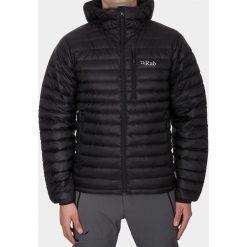Kurtki sportowe męskie: RAB Męska Kurtka Puchowa Microlight Alpine Jacket Czarna r. M