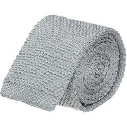 Krawaty męskie: krawat terni szary classic 201