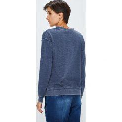 Roxy - Bluza. Szare bluzy rozpinane damskie Roxy, l, z aplikacjami, z bawełny, bez kaptura. W wyprzedaży za 199,90 zł.