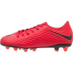 Buty sportowe chłopięce: Nike Performance HYPERVENOM PHELON 3 AGPRO Korki Lanki university red/black/bright crimson