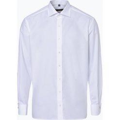 Koszule męskie na spinki: Eterna Modern Fit – Koszula męska niewymagająca prasowania z wywijanymi mankietami, czarny