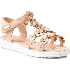 Sandały dziewczęce: Sandały NELLI BLU – CS17082-3 Beżowy
