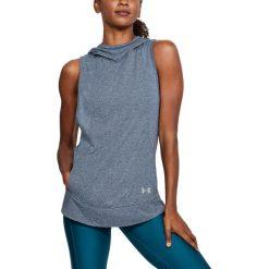 Bluzy sportowe damskie: Under Armour Bluza Damska Threadborne Swft Pullover Niebieska r. L (1305122-409)