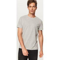 Gładki T-shirt Basic - Jasny szar. Szare t-shirty męskie Reserved, l. Za 19,99 zł.