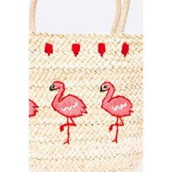Answear - Torebka. Szare torebki klasyczne damskie marki ANSWEAR, z materiału, duże. W wyprzedaży za 79,90 zł.