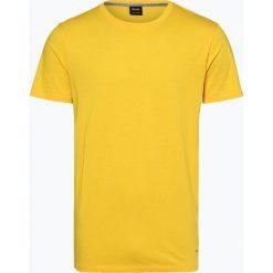 T-shirty męskie: BOSS Casual - T-shirt męski – Typer, żółty